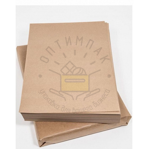 Бумага крафт в листах формата А4, 210*297 мм