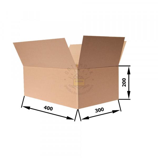 Гофрокороб 400*300*200 Т−21 B бурый