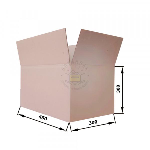 Гофрокороб 450*300*300 мм П-32 бурый