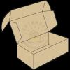 Самосборная коробка с ушками или коробка самолёт